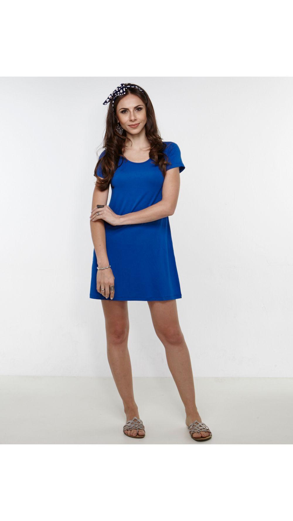dc0a9bdec Shopmanola - Vestido - Modelo - Curto 142 Azul – shopmanola