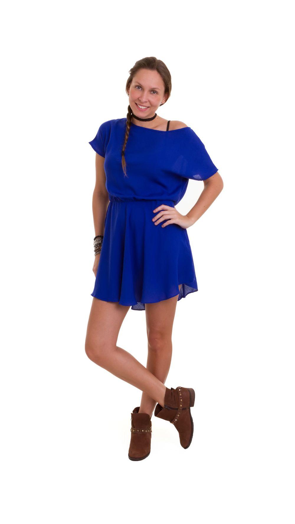 e8bbef189 Vestido em Shopmanola - Vestido - Modelo - Curto Azul G – shopmanola